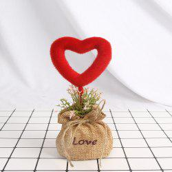 Artificial Love Green Plant -
