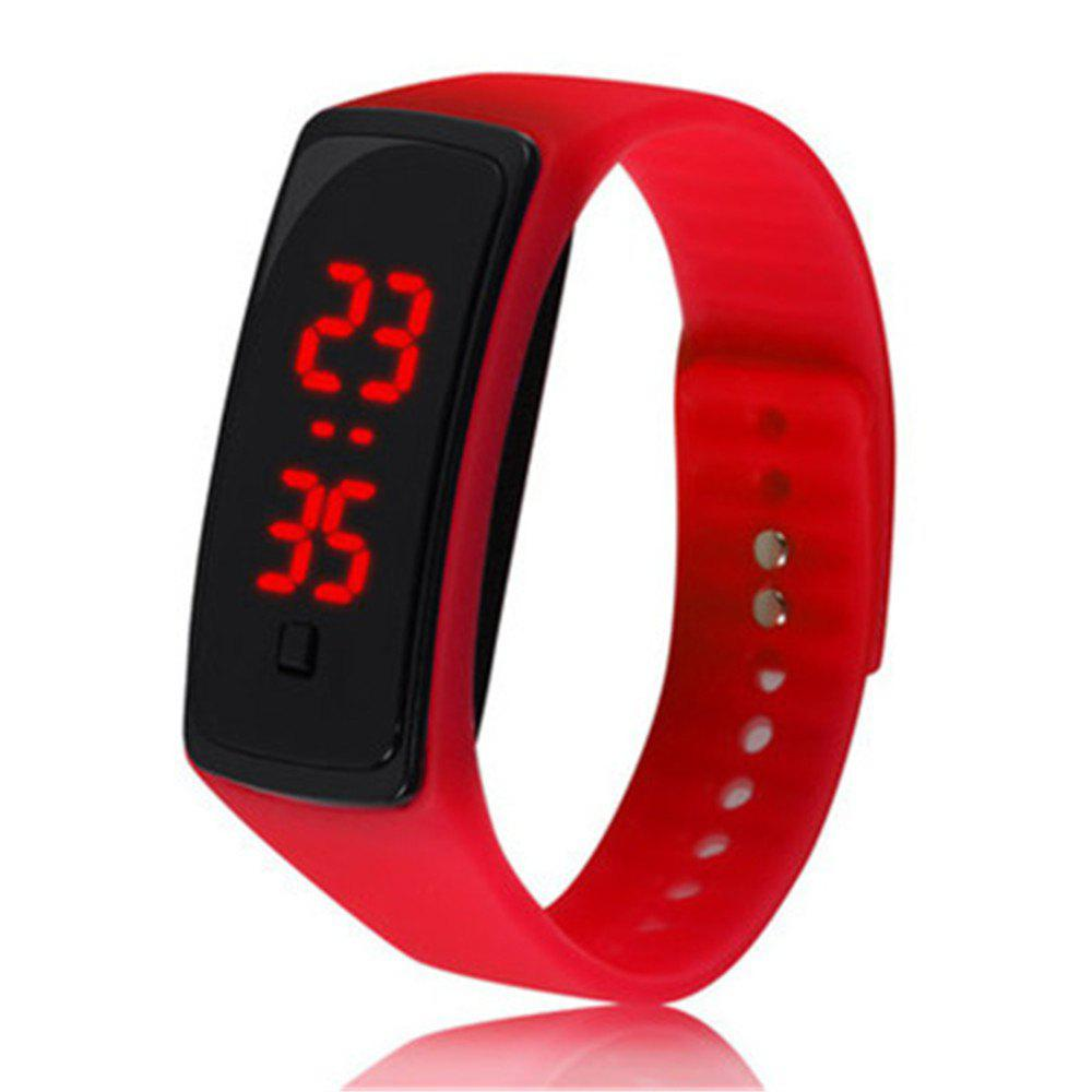 Unique Mens Womens Rubber LED Watch Date Sports Bracelet Digital Wrist Watch