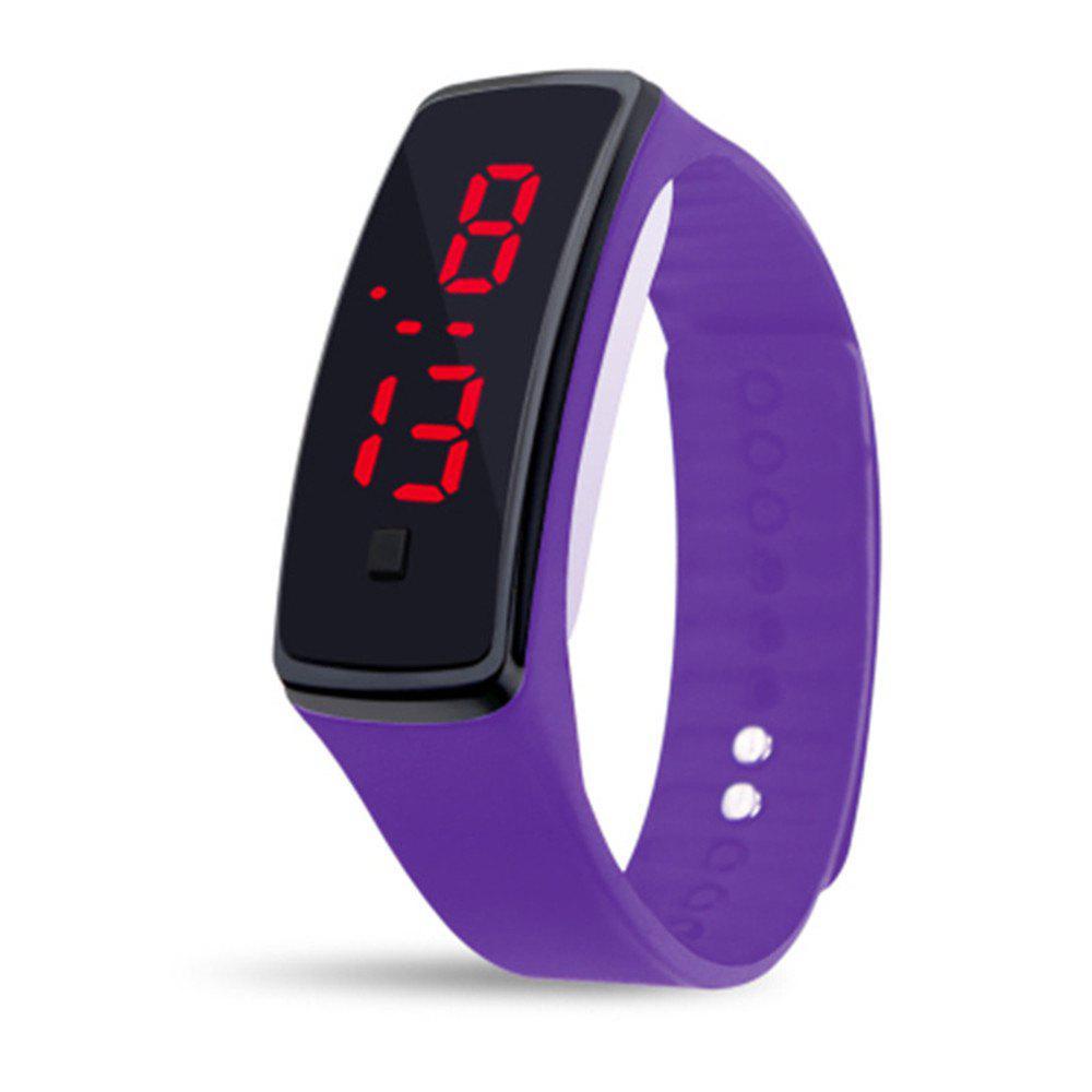 Best Mens Womens Rubber LED Watch Date Sports Bracelet Digital Wrist Watch
