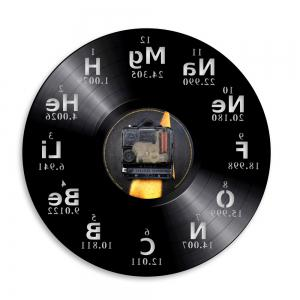 Chemische Vinyl Clock Bedroom Wall Decoration Home Decoration Gift Present -