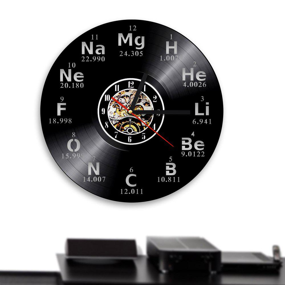Chic Chemische Vinyl Clock Bedroom Wall Decoration Home Decoration Gift Present
