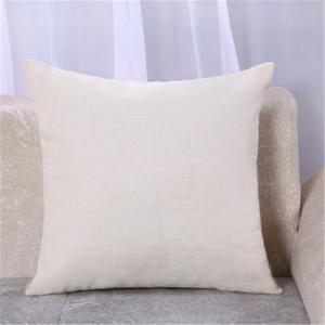 Simple and Lovely Painted Dog Printed Linen Sofa Pillowcase Cushion Covers -