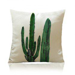 Individual Tropical Plant Cactus with Pillowcase -