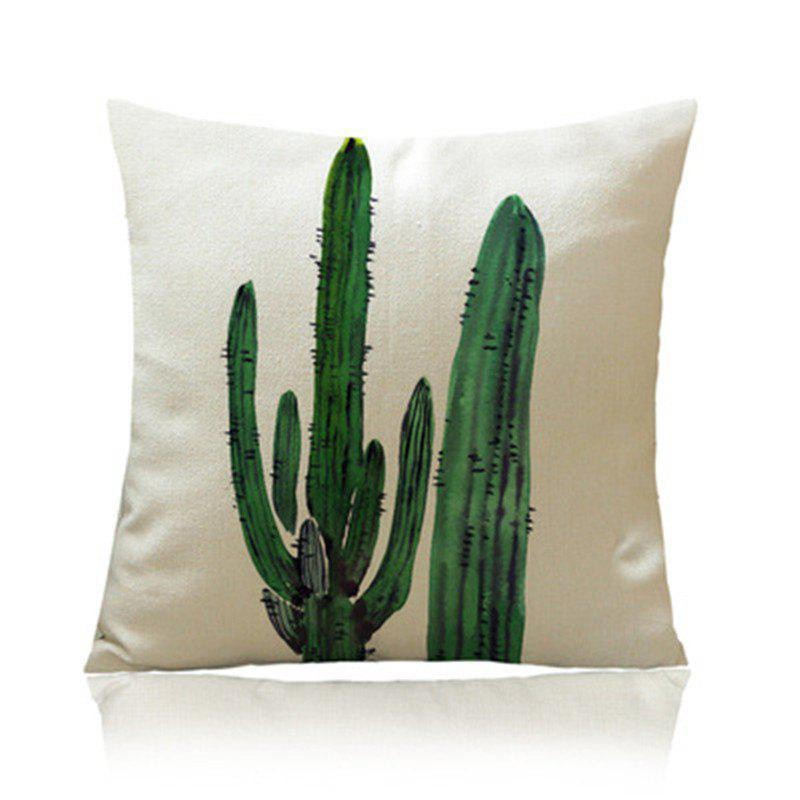 Affordable Individual Tropical Plant Cactus with Pillowcase