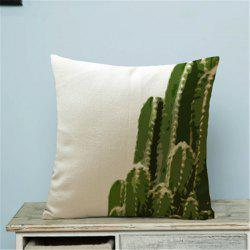 Creative Plant Cactus Household Pillow Cover -