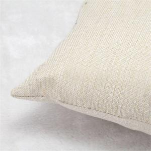 Simple and Cute Cat Flax Pillow Cover Home Decoration -