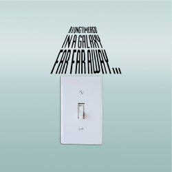 Removable Mural Light Switch Sticker Vinyl Wall Decal Home Decor -