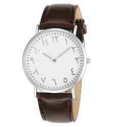 Nouvelle mode créative Tadpole Casual Business Men Quartz -