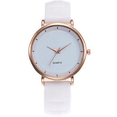 Watches cheap online sale free shipping rosegal fashion jelly silicone women watches luxury brand casual ladies quartz watch gumiabroncs Image collections