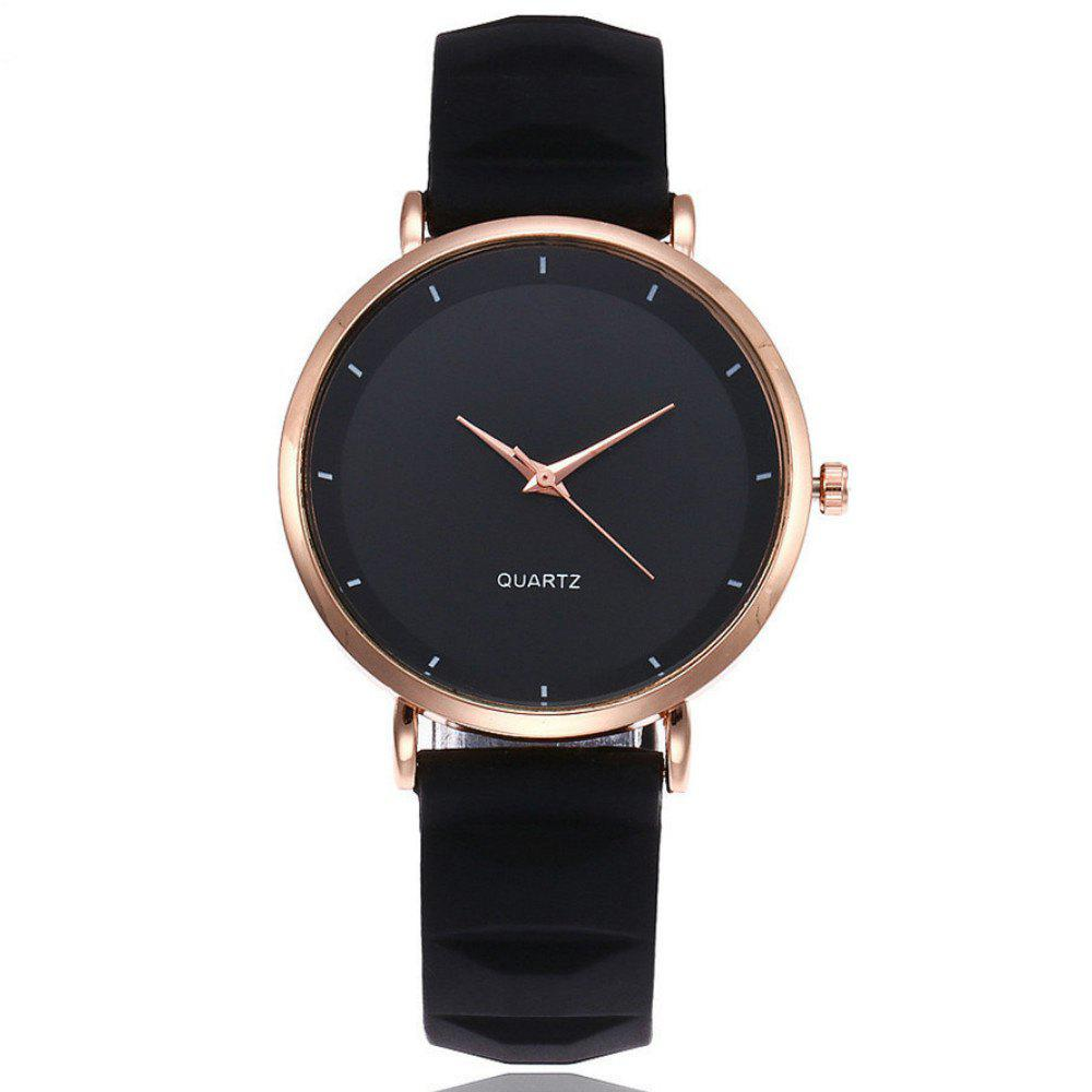 New Fashion Jelly Silicone Women Watches Luxury Brand Casual Ladies Quartz Watch