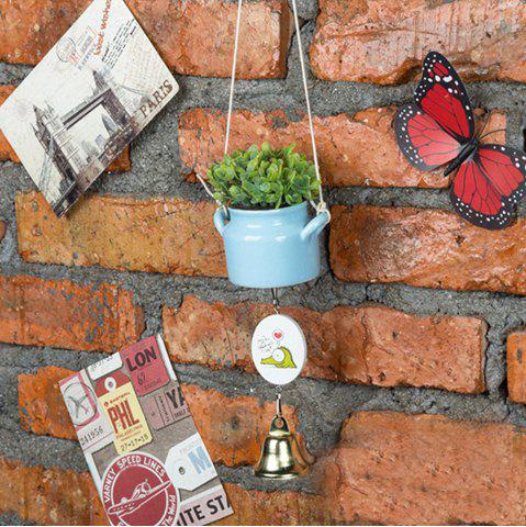 Affordable WX-C29-1705 Home Decoration Ceramic Pot Wind Chime