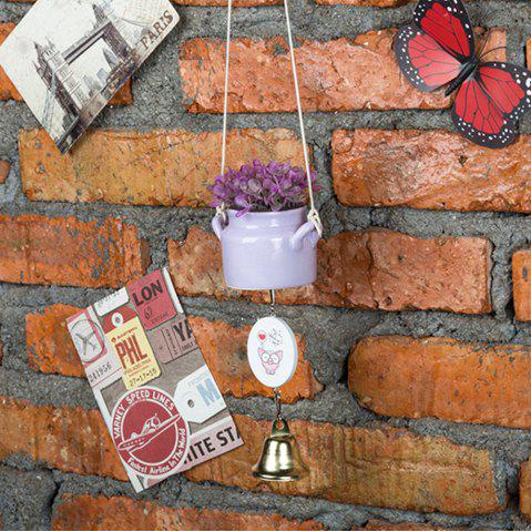 Sale WX-C29-1705 Home Decoration Ceramic Pot Wind Chime