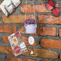 WX-C29-1705 Home Decoration Ceramic Pot Wind Chime -