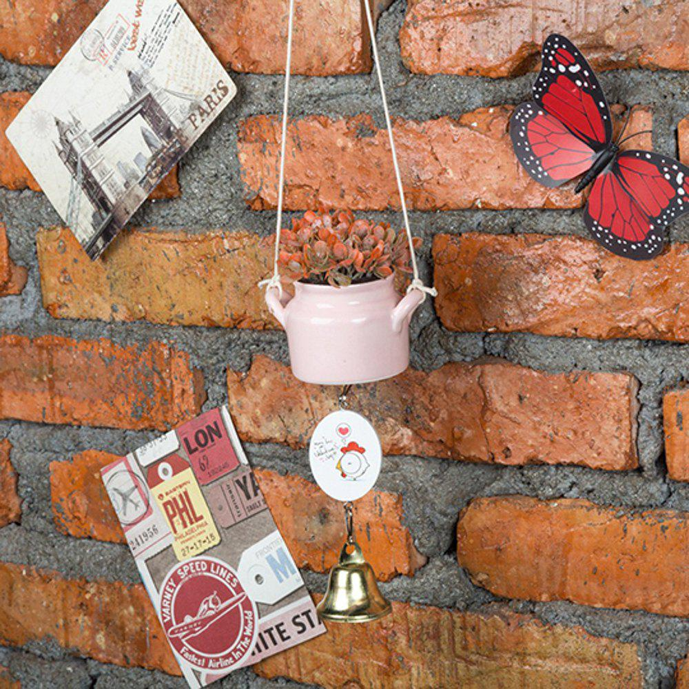 Trendy WX-C29-1705 Home Decoration Ceramic Pot Wind Chime