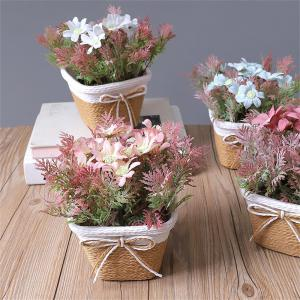 WX-C32 Rope Woven Square Bowl Persian Potted Plant -