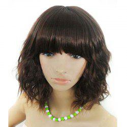 High Quality Women Fashion Corn Roll Curls Wig -