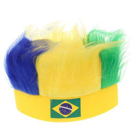 Latest Special Wig Holiday Decoration for Soccer Fan