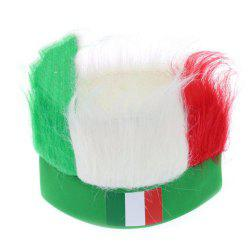 Special Wig Holiday Decoration for Soccer Fan -