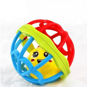 Intelligence Baby Hand Grasping Ball Rattle Toy -