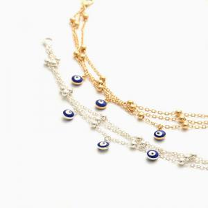 New Bohemian Blue Eyes Pendant Summer Beach Anklet Chain Accessories -