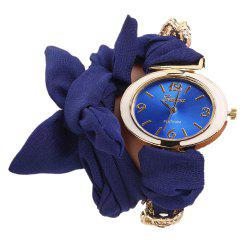 Geneva XR2441 Women's Fashion Oval Face Bracelet Wrist Watch -