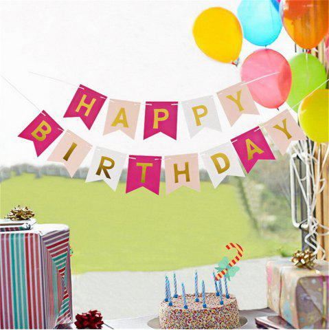 Outfit Happy Birthday Bunting Banner