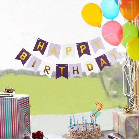 Latest Happy Birthday Bunting Banner