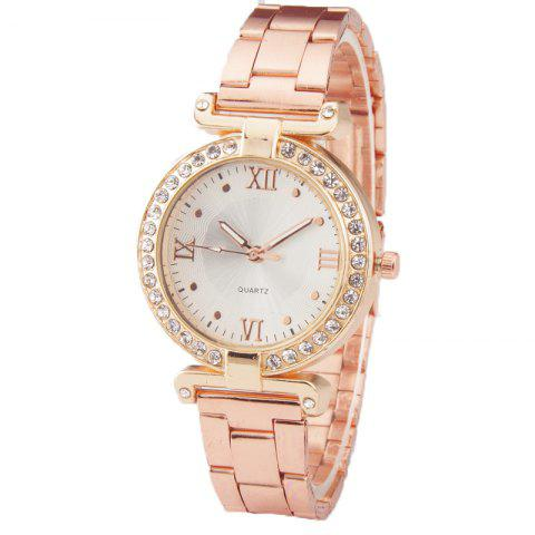 Outfit Fashion Steel Band Women Business Watch