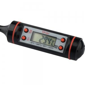 Household Big Screen Pen Type Digital Display Barbecue Roast Food Thermometer -