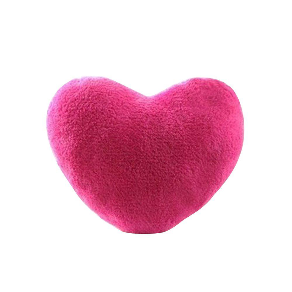 Cheap Cute Heart Plush Lovers Pillow