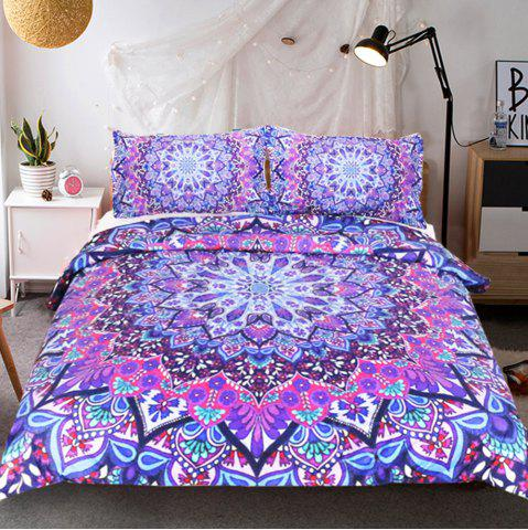 Best Purple Glowing Bedding  Duvet Cover Set Digital Print 3pcs