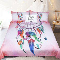 Coeur Dreamcatcher Literie housse de couette Set Digital Print 3pcs -