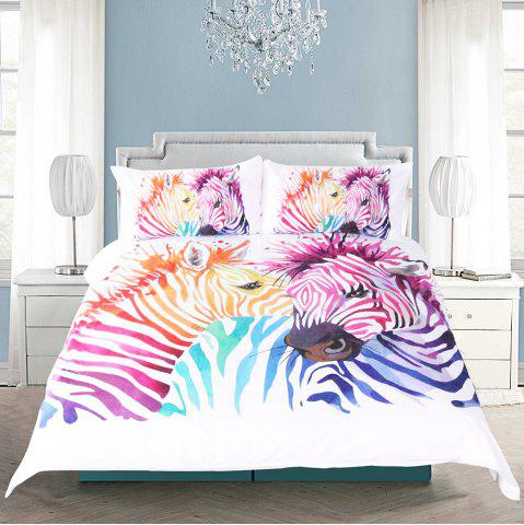 Outfit Zebra Bedding  Duvet Cover Set Digital Print 3pcs