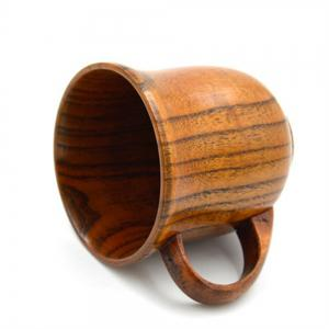 Wooden Handle Office Coffee Cup -