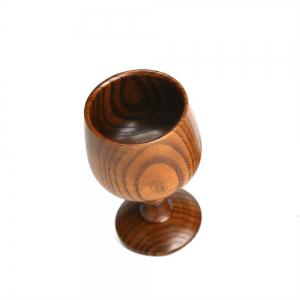 Natural Wooden Red Wine Cup -