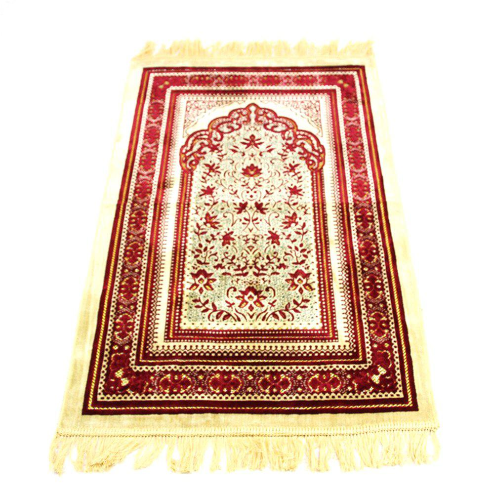 Fancy 70X110CM Cashmere Prayer Rug Pilgrimage Blanket