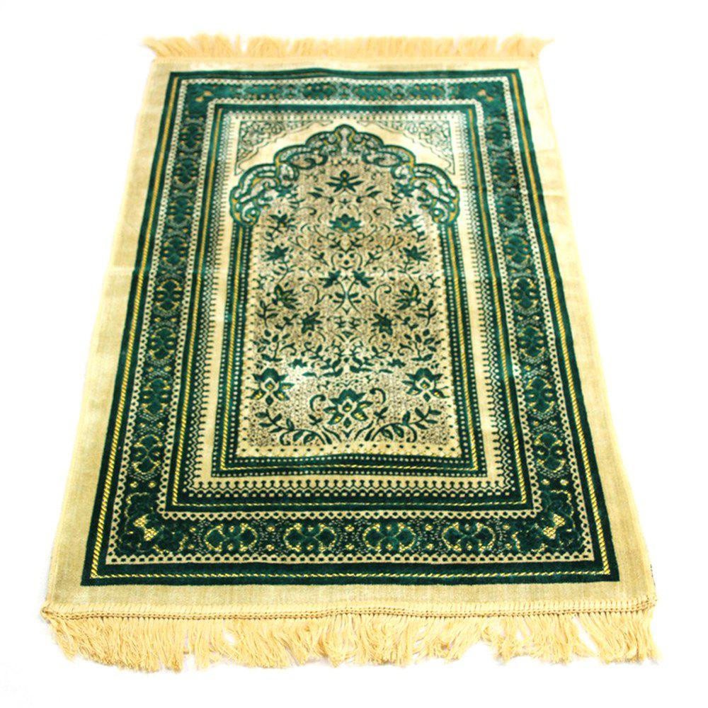 Trendy 70X110CM Cashmere Prayer Rug Pilgrimage Blanket