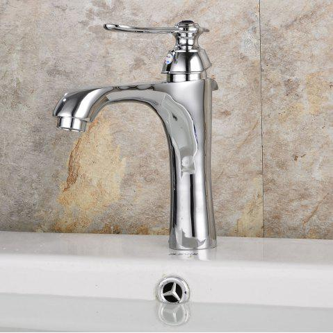 Trendy Poll Parrot Single Hole Cupreous Basin Faucet
