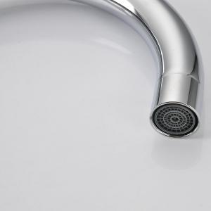 Water-drop Single Hole Brass Kitchen Faucet -