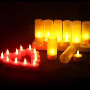 12 Creative Confession Romantic Charge Candle Lights -