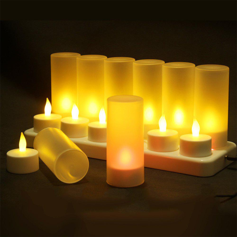 Buy 12 Creative Confession Romantic Charge Candle Lights