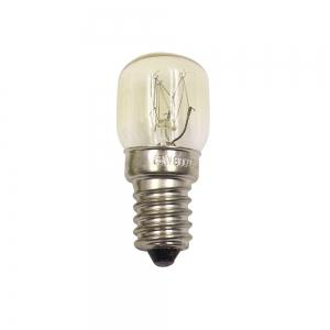 Oven Light Bulb E14 15W High Temperature 300 Degree Yellow Toaster Tungsten Filament Bulb -