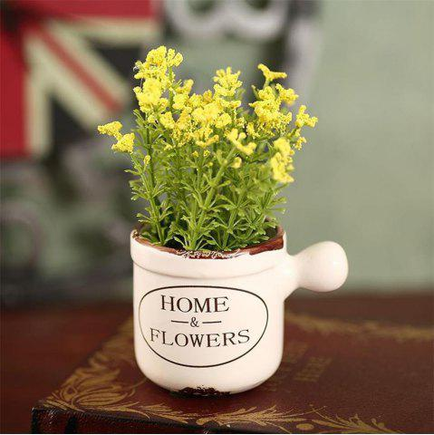 Outfit WXQY-04 Home Accessories Art Flower with Pot