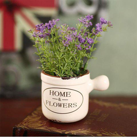 Discount WXQY-04 Home Accessories Art Flower with Pot