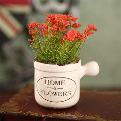 WXQY-04 Home Accessories Art Flower with Pot -