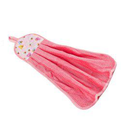 BA016 Hung Up épaississement Super Absorbant Coral Velvet Towel -
