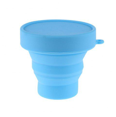 Discount Portable Collapsible Travel Silicone Folding Cup Retractable Gargle Mug