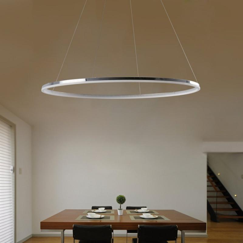 Shop Modern LED Ring Shape Pendant Lamp Creative Style for Living Dining Office Room