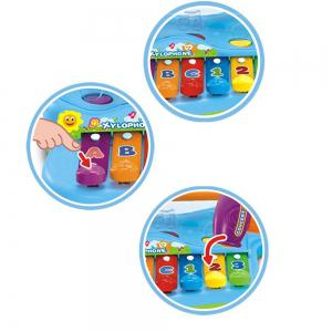 Early Education 1 Year Olds Baby Toy Enlighten Xylophone with 3 Color Balls -