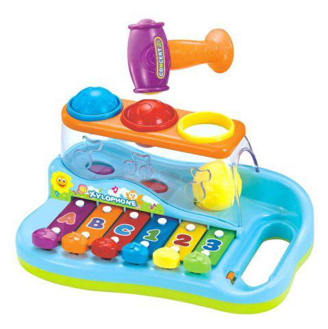 Online Early Education 1 Year Olds Baby Toy Enlighten Xylophone with 3 Color Balls